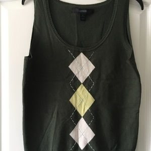 Express sweater vest